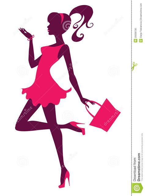 vector illustration of a stylish stylish girl stock vector illustration of ponytail