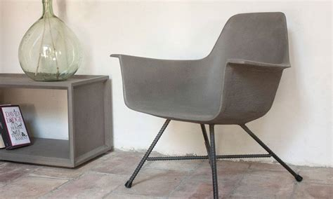 Concrete Chair by Mid Century Modern Concrete Chair Cool Material