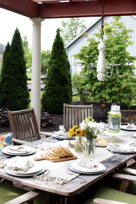 stylish porch deck  patio decor ideas setting