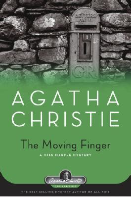 libro the moving finger miss the moving finger miss marple 4 by agatha christie