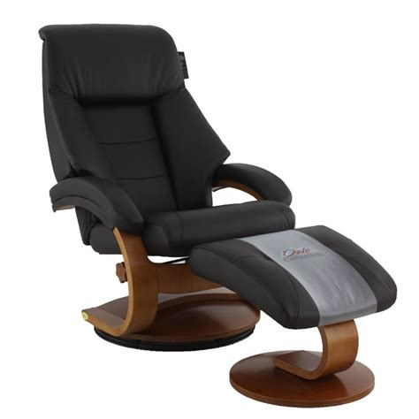 Leather Swivel Chair Recliner - mac motion oslo leather swivel recliner in espresso and