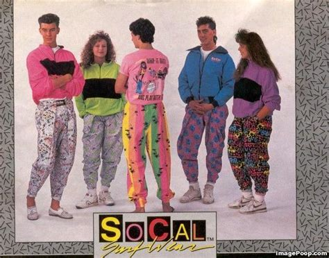 what clothes did they wear in the 80s ehow i m just sayin socal surf wear