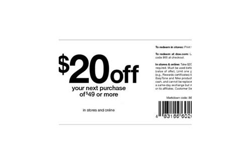 dsw shoes coupon codes free shipping