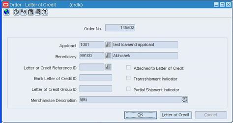 Purchase Order Letter Of Credit work with letters of credit