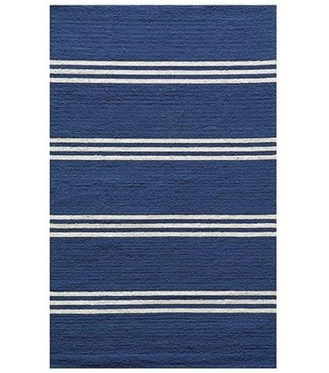 teppich blau weiß gestreift teppich designs f 252 r den au 223 enbereich die ins haus