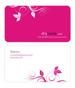 pink business card template cardview net business card visit card design inspiration gallery 187 free pink dryicons