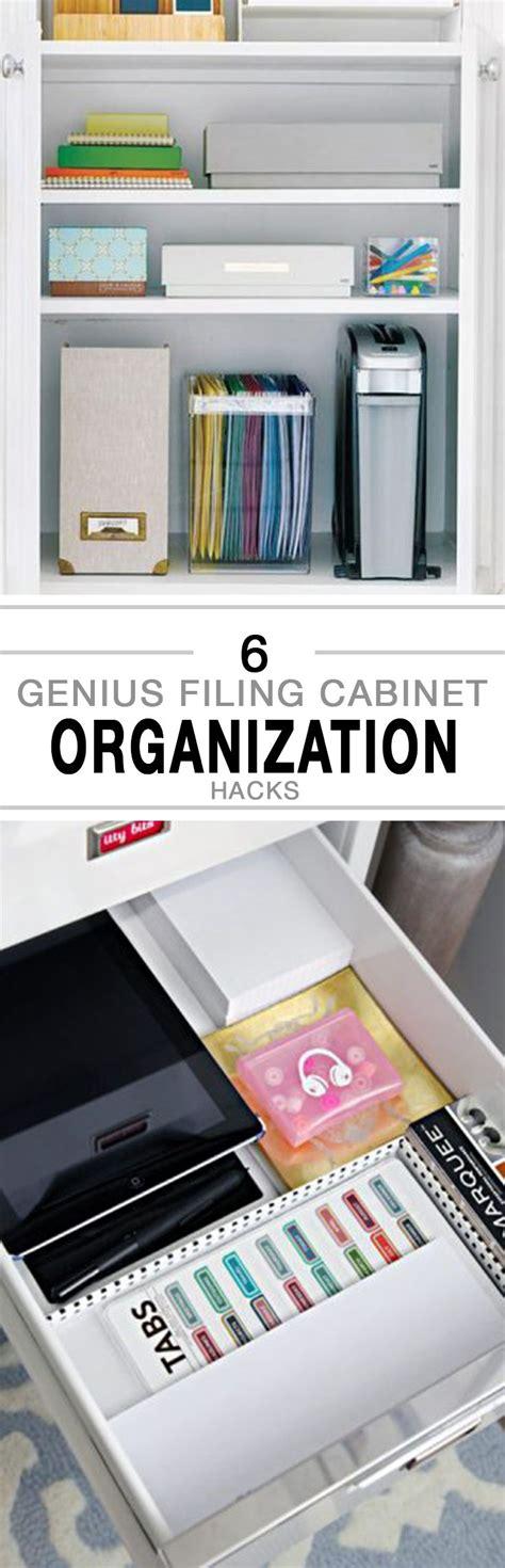 home organization hacks 25 best ideas about filing cabinet organization on