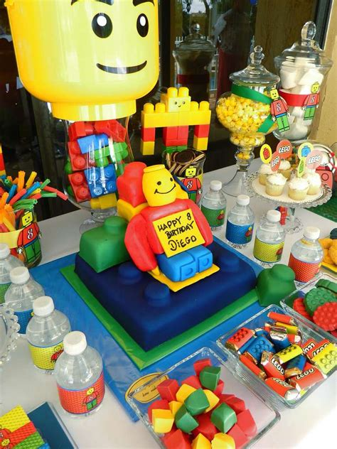 lego themed birthday supplies lego party birthday party ideas photo 1 of 19 catch my