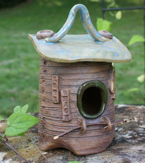 Vogelhaus Garten Deko by Vogelhaus Aus Keramik Als Gartendekoration T 246 Pfern