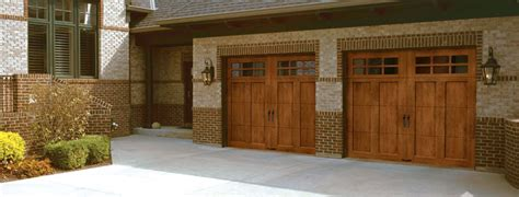 Wood Looking Garage Doors Custom Crafted Wood Look 5 Layer Ideal Garage Doors