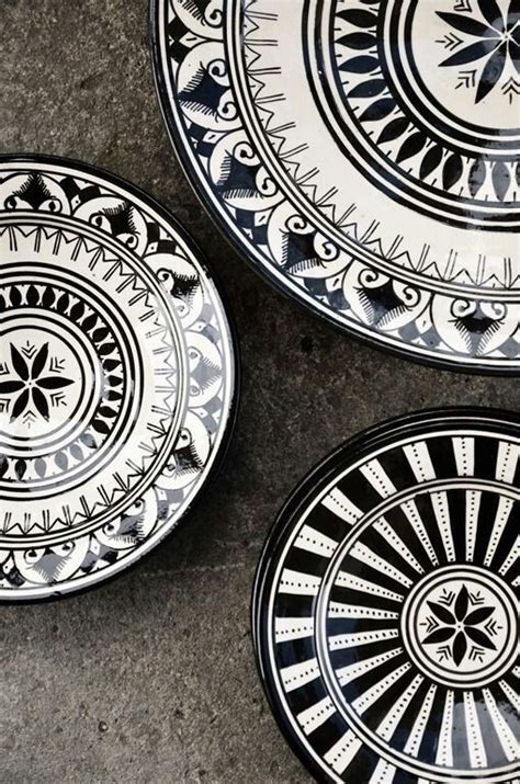 pattern goods black and white dishes home goods black and white china