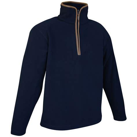 Jaket Fleece Sweater Insight Navy pyke countryman pullover fleece mens sweater polar jacket navy blue ebay