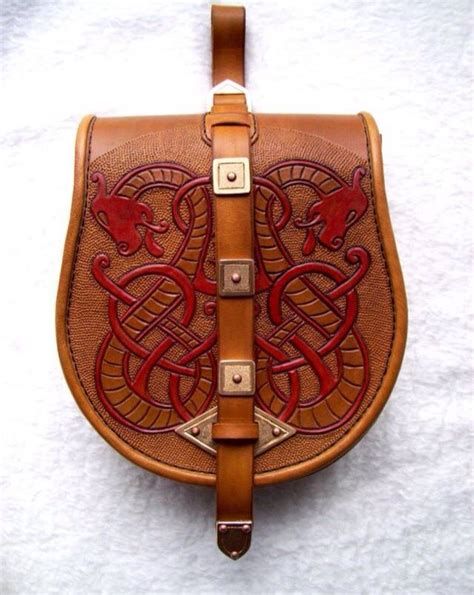 Pouch Castelle 12 best viking bags and tarsolys images on
