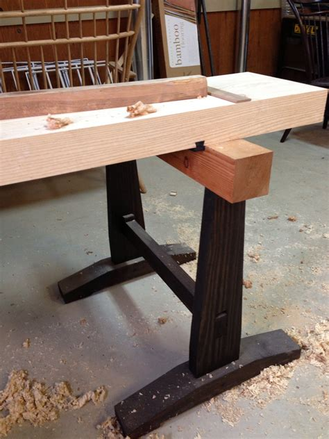 japanese woodworking bench a slab top for the japanese workbench digital woodworker