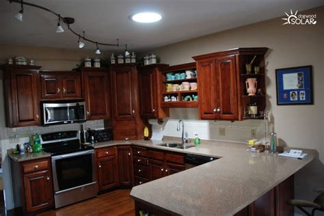 Light Tunnels Kitchens Sun Tunnels In The Kitchen Traditional Kitchen St Louis By Dogwood Solar