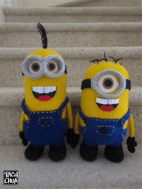 pattern crochet minion minion mayhem drawn and hooked