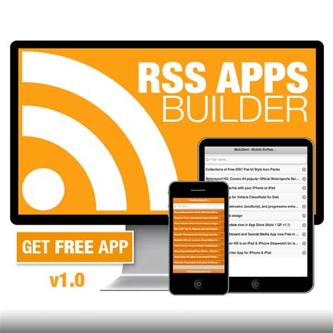 mobile rss feeds convert any rss feed to a mobile app mobigeni