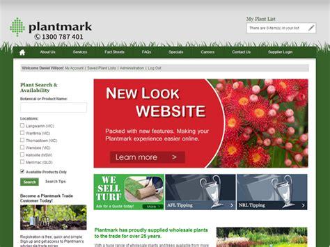 Garden Supply Websites Plantmark Launches New Website Project Ods