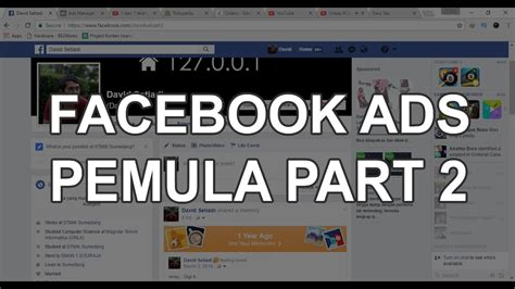 facebook ppc ads tutorial cara memasang iklan di facebook tutorial facebook ads