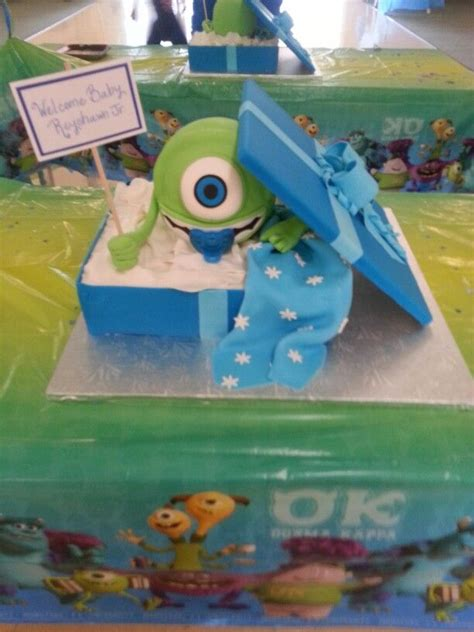 monsters inc baby shower ideas s inc baby shower cake baby shower ideas