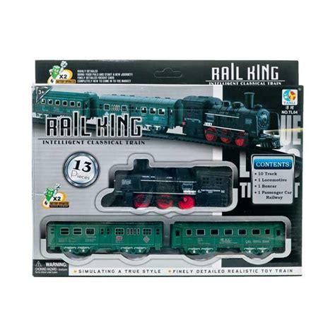 Mainan Rail King Kereta Api 13pcs jual pusat mainan anak tl 04 kereta api rail king set
