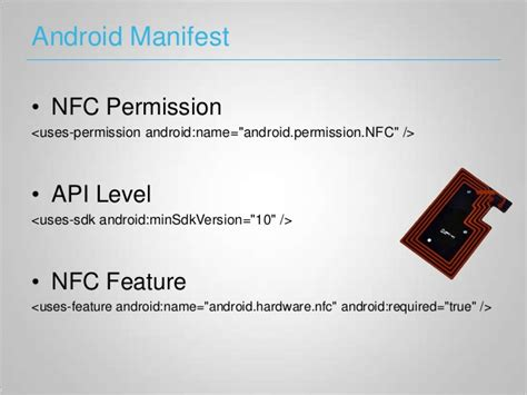 android manifest permission nfc on android