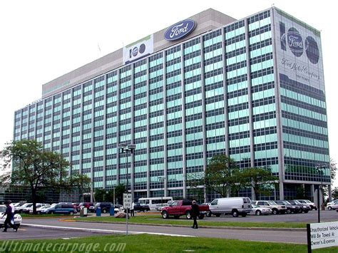 ford headquarters ford world headquarters ultimatecarpage com images