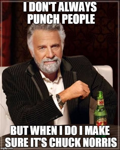 Punch Meme - i don t always punch people imgflip