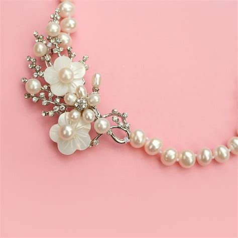 cherry blossom pearl necklace september 6 2014
