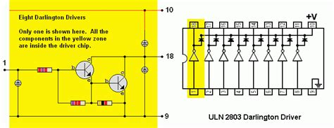 fungsi transistor c2383 transistor darlington uln2803 28 images bauteilkiste uln2803 gerold s homepage uln2803