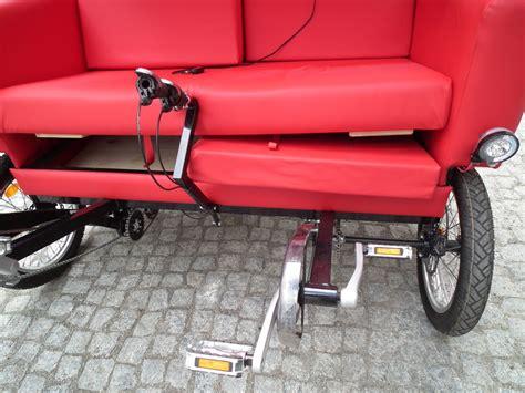 couch bike sofa bike