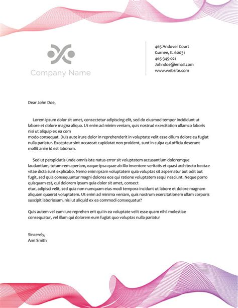 letterhead template microsoft word templates free psd and pdf