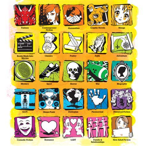 biography genre labels senior genre spine labels walib