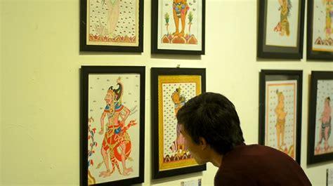 desain komunikasi visual isi denpasar pameran ilustrasi tradisi mahasiswa dkv isi denpasar
