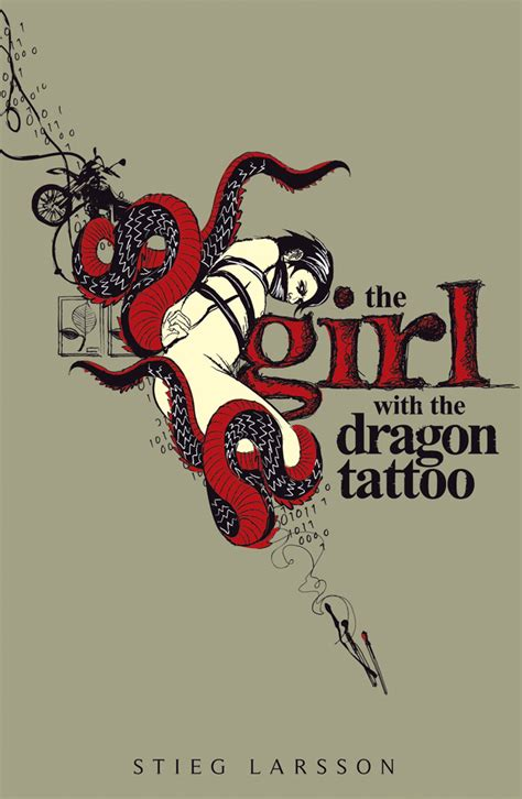 dragon tattoo larsson girl with the dragon tattoo by reinikka on deviantart