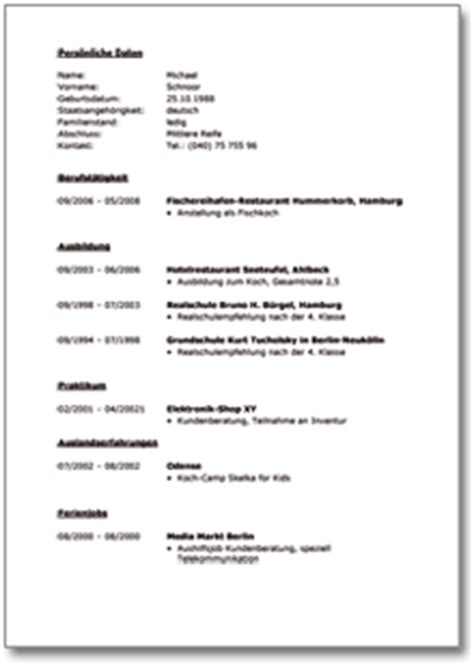 Lebenslauf Nach Ausbildung Schweiz Lebenslauf Hauptschule Abgeschl Ausbildung Mit
