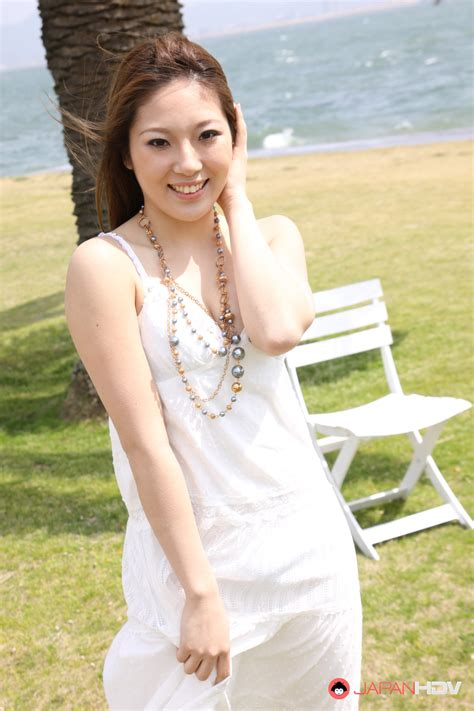 only asian pictures hot darling manami ichikawa posing outdoors