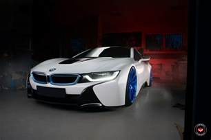 Bmw I8 Vossen Wheels Give A Bmw I8 A New Look
