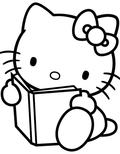 hello kitty with flowers coloring pages hello kitty flower coloring pages