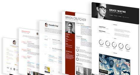 Free Resume Samples Online by Create A Stunning Online Cv In Minutes