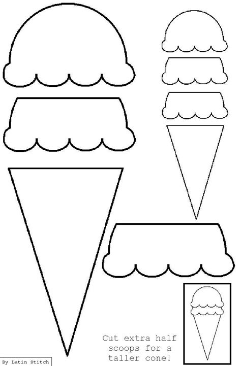 cone card template cone appliqu 233 template applique svg embroidery