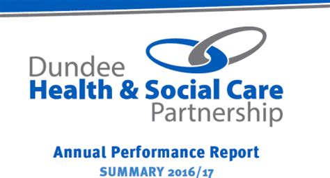 dundee health and social care partnership annual