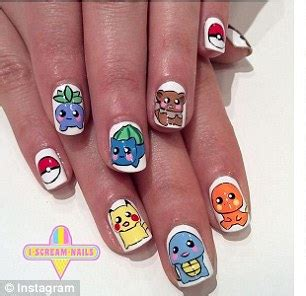 nail design maker as seen on tv pok 233 mon go beauty lovers up their game with eye catching