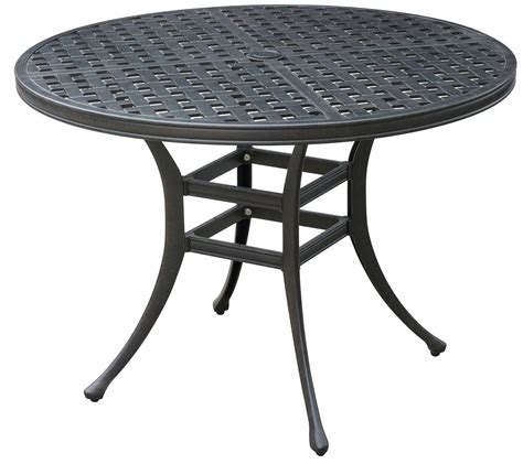 patio dinning table chiara ii dark gray round patio dining table cm ot2303 rt