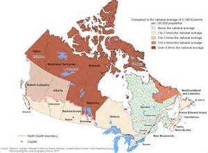 the daily reported crime in canada s provincial
