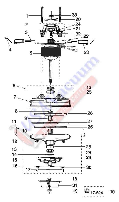 rainbow vacuum parts diagram rexair rainbow d4 se cleaning system