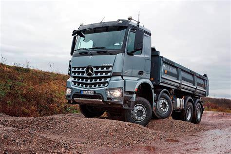 mercedes truck mercedes benz launches arocs truck range video