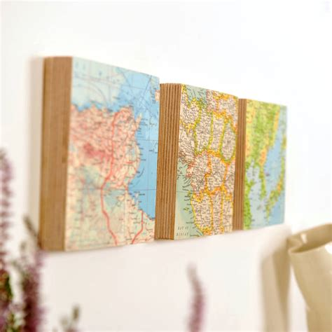 Wedding Anniversary Locations by Three Map Location Wedding Anniversary Wall By Bombus