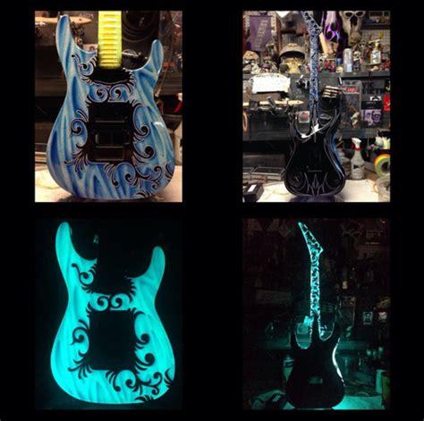 Light Up Paint by Light Up Guitars Td Customs Certified Lumilor Lab
