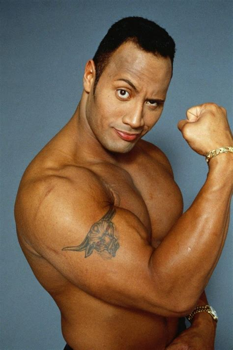 dwayne johnson tattoo bull dwayne johnson height and weight measurements